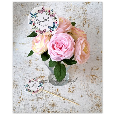 Karteczka na piku Dziękuję BARDZO motylki (1)