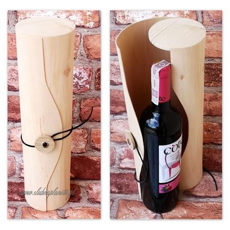 Drewniana tuba na alkohol (1)